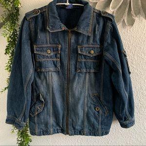 Lilliputian unisex youth denim jacket